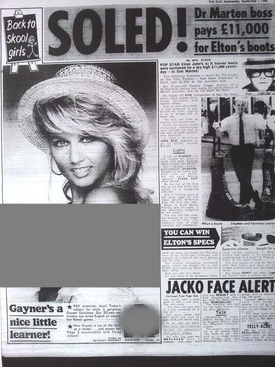 Sun page 3 girl of the day