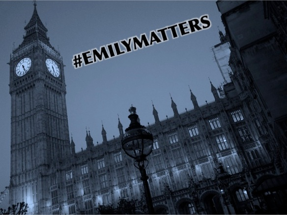 Emily Matters, Emily Davison, statue in Parliament, To Freedoms Cause, Kate Willoughby
